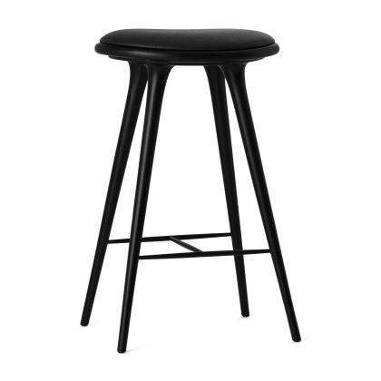 Black Stained Beech Stool Image