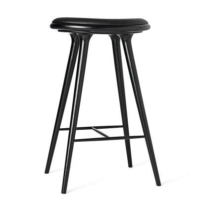 Black Stained Oak Stool Image