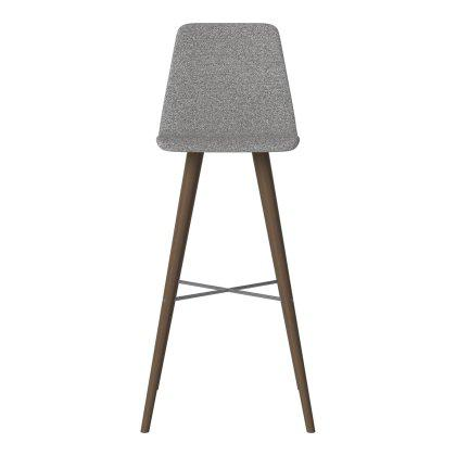 Beaver Upholstered High Bar Stool Image