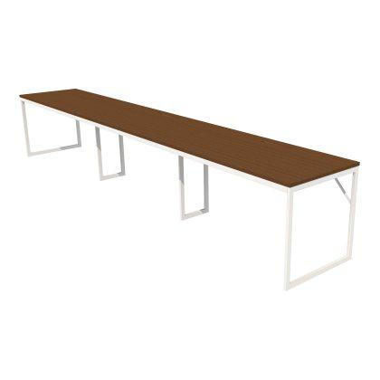 Foundation Benching Desk - 3 Linear Image
