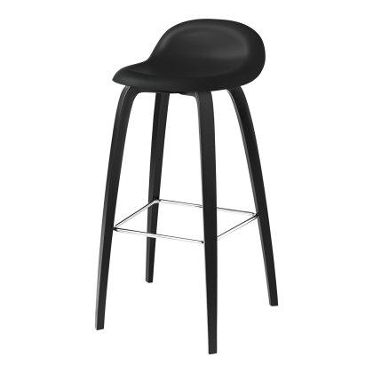 Gubi 3D Stool - Wood Base Image