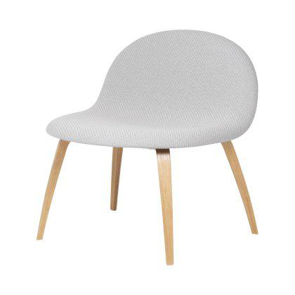 Gubi 3D Lounge Chair - Wood Base Fully Upholstered Image