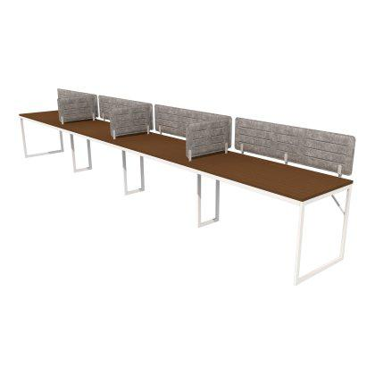 Foundation Benching Desk - 4 Linear Image