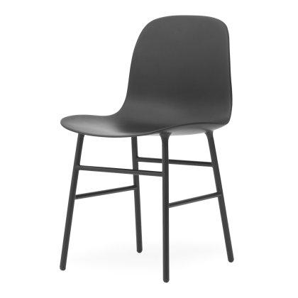 Form Chair - Metal Base Image