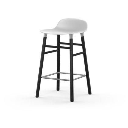 Form Barstool 65 cm Wood Base Image