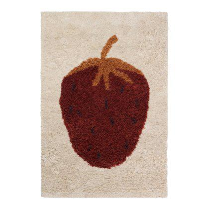 Fruiticana Tufted Strawberry Rug Image