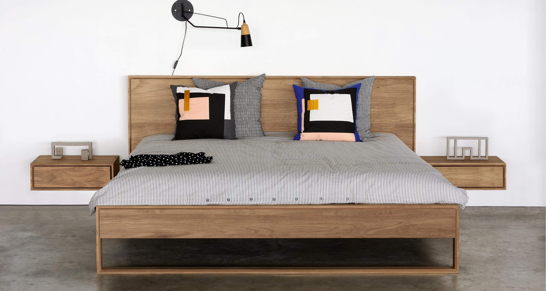 Madra Bed Ethnicraft : Nordic ii hanging nightstand ethnicraft rypen