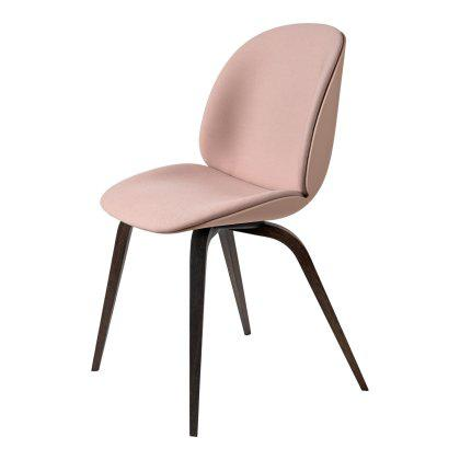 Beetle Dining Chair - Wood Base Front Upholstered Image