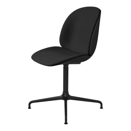 Beetle Meeting Chair - Front Upholstered Four Star Base Image