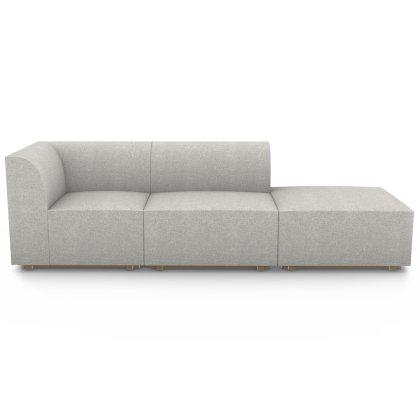 Blockhouse Modular Sectional - 3 Seat Open Ended Sofa Image