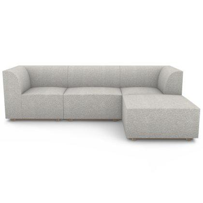 Blockhouse Modular Sectional - 4 Seat Chaise Sofa Image