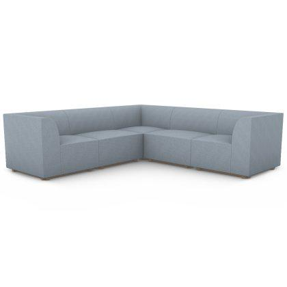Blockhouse Modular Sectional - 5 Seat Corner Sofa Image