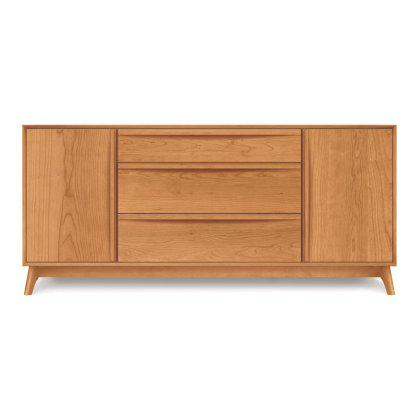 Catalina 3 Drawer Buffet with Flanked Doors Image