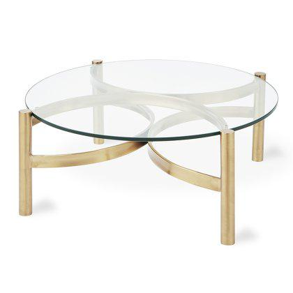 Compass Glass Coffee Table Image