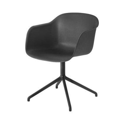 Fiber Armchair Swivel Base W.O. Return Image