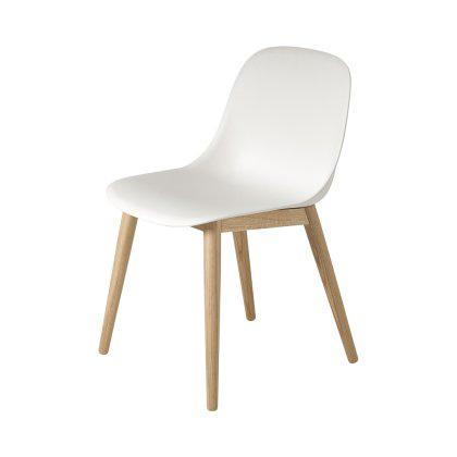 Fiber Side Chair Wood Base Image
