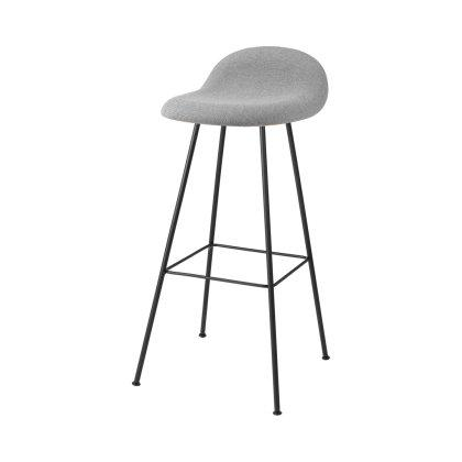 Gubi 3D Counter Stool - Center Base Front Upholstered Image