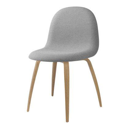 Gubi 3D Dining Chair - Wood Base Fully Upholstered Image