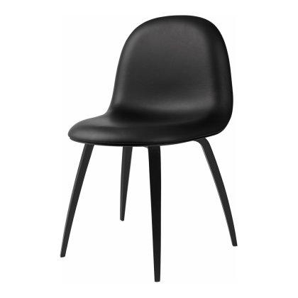 Gubi 3D Dining Chair - Wood Base Front Upholstered Image