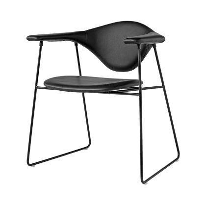 Masculo Dining Chair - Sledge Base Image