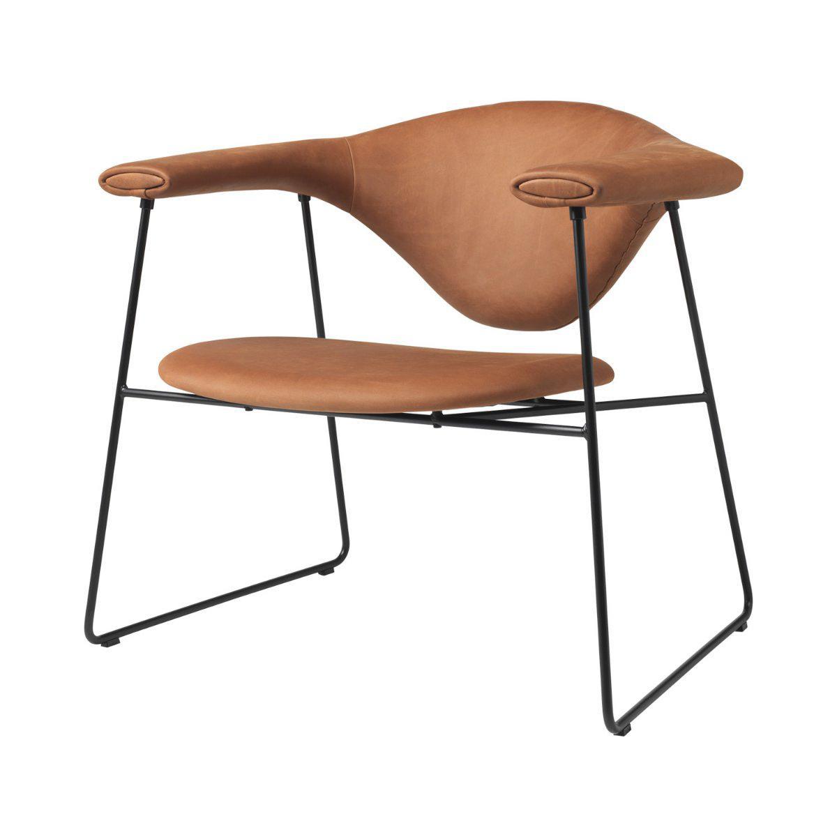 Masculo Lounge Chair Sledge Base Gubi Rypen