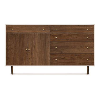 MiMo 4 Drawers 1 Drawer Over 2 Door Dresser Image