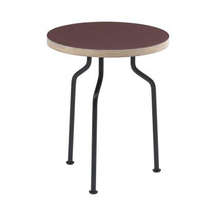 Modern Line Side Table Round Image