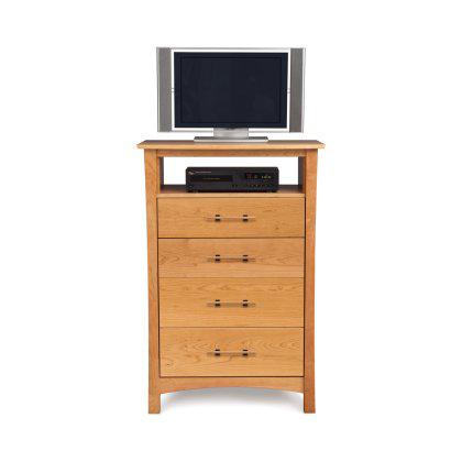 Monterey 4 Drawer Dresser with TV Organizer Image