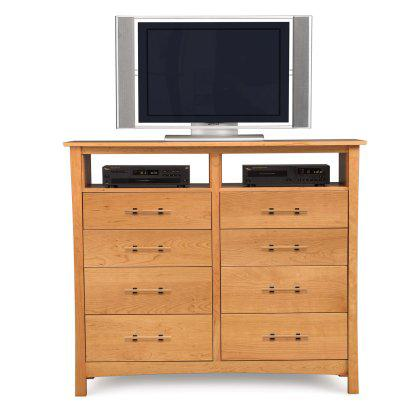 Monterey 8 Drawer Dresser with TV Organizer Image