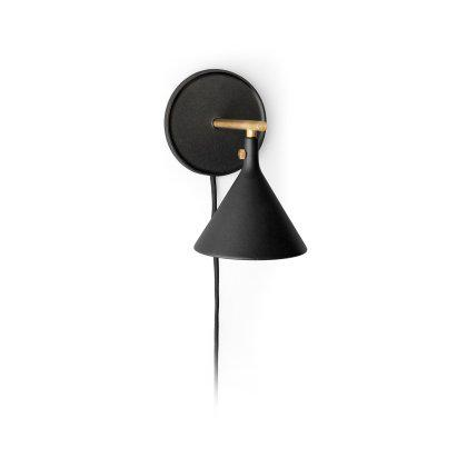 Cast Sconce Wall Lamp Black Image
