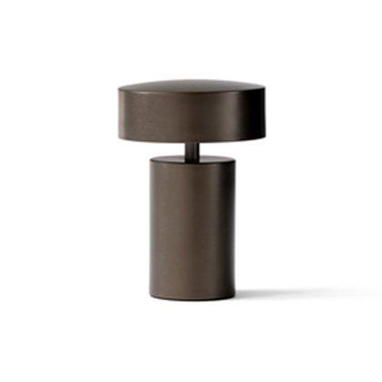 Column LED Table Lamp, Bronze Image
