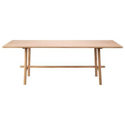 Oak Profile Dining Table Image