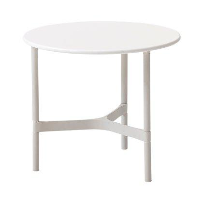 Twist Side Table, White Image