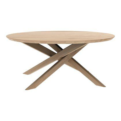 Oak Mikado Coffee Table - Round Image