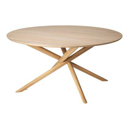 Oak Mikado Dining Table - Round Image