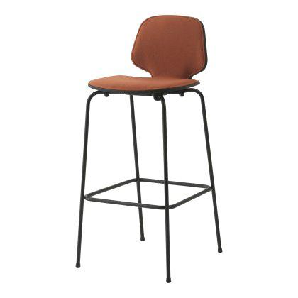 My Chair Barstool - Metal Legs, Front Upholstered Image