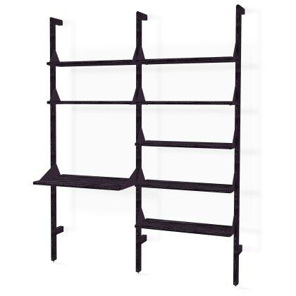 Branch-2 Shelving Unit with Desk Image