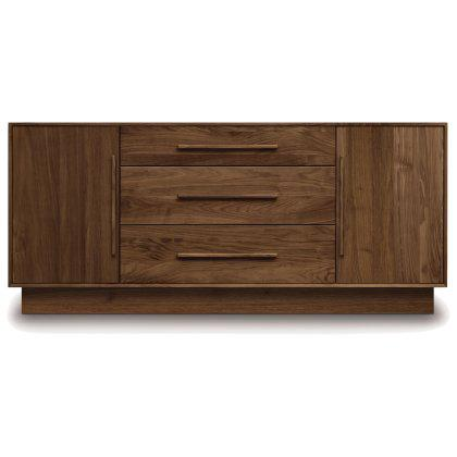 Moduluxe 3 Drawer 2 Flanked Door Dresser Image