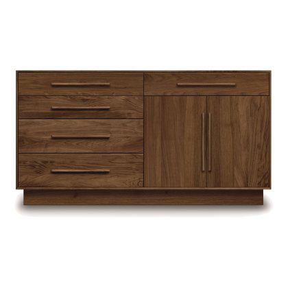 Moduluxe 4 Drawer and 1 Drawer Over 2 Door Dresser Image