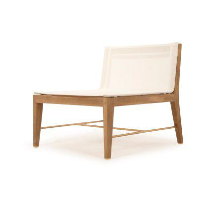 Byron Single Seat Armless Chair Image