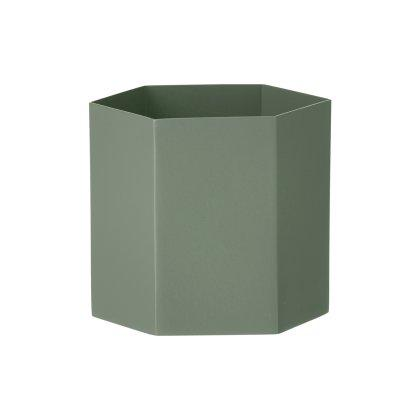Metal Hexagon Pot Image