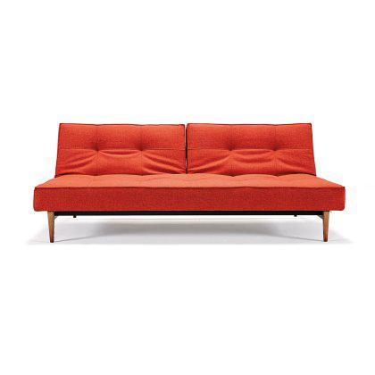 Splitback  Sofa - Wood Base Image