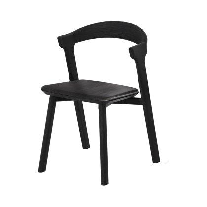 Oak Bok Black Dining Chair Image