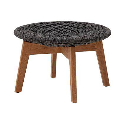 Peacock Footstool / Coffee Table, Cane-line Soft Rope Image