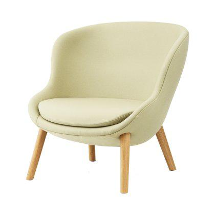 Hyg Lounge Chair - Low Oak Image