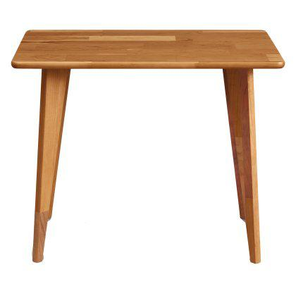 Essentials Rectangle End Table - Wood Legs Image