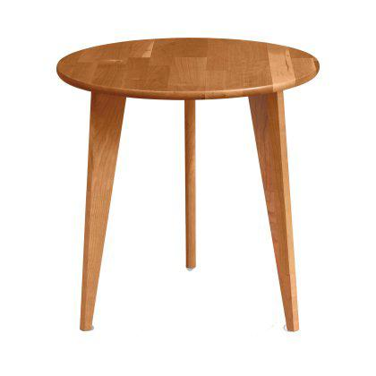 Essentials Round End Table - Wood Legs Image