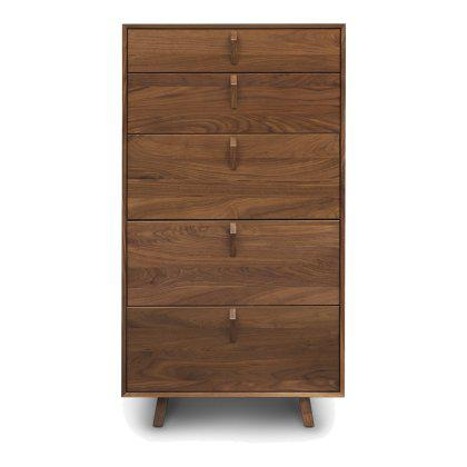 Keaton 5 Drawer Narrow Dresser Image