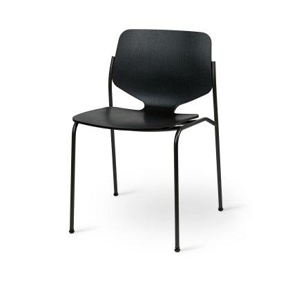 Nova Chair - Black Stained Beech Image