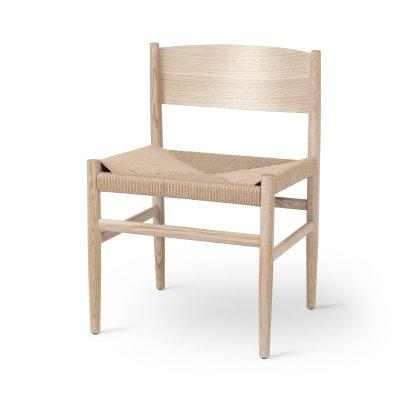 Nestor Chair - Matte Lacquered Oak Image